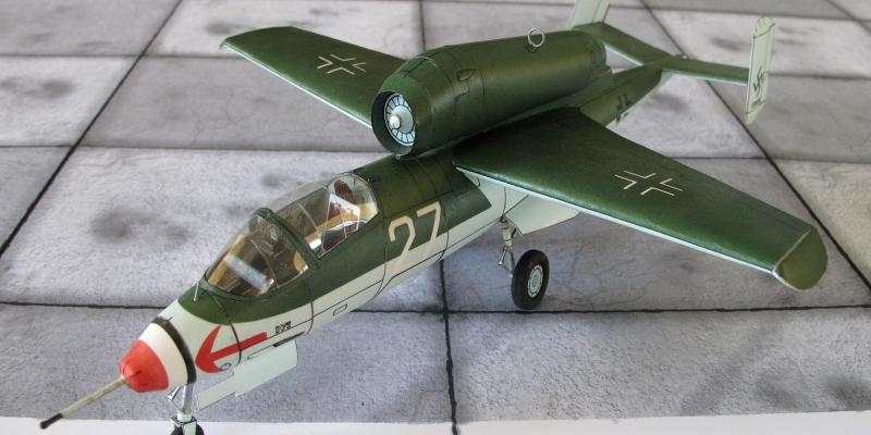 "He-162  A-2  ""Volksjager"""