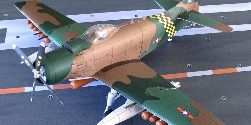 "A-1 J  (AD-7)  ""Skyraider"""