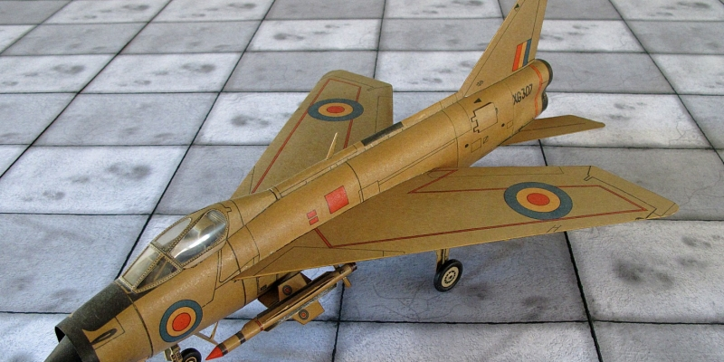 "BAC ""Lightning""  F Mk.1"