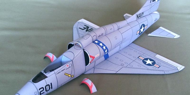 """A-4 F """"Skyhawk"""""""