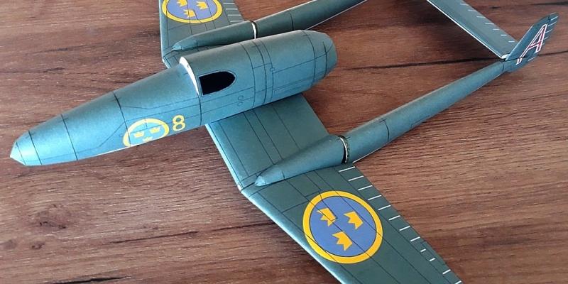SAAB  J-21 A-2
