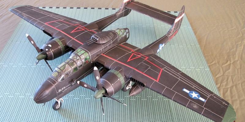 "P-61 B  ""Black  widow """