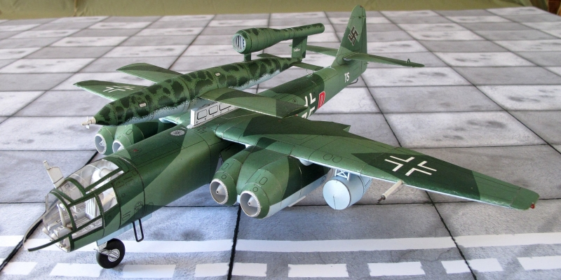 "Ar-234  C-2  ""Blitz""  +  Fi-103"