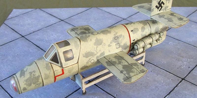 """Ва-349  B-1  """"Natter"""""""