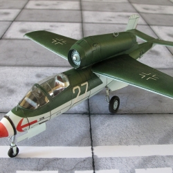 """He-162  A-2  """"Volksjager"""""""