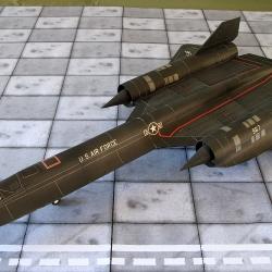 """SR-71 A  """"Blackbird"""""""