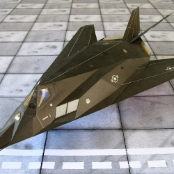 """F-117 A  """"Night hawk"""""""