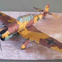 """Ju-87  B-2  """"Stuka"""""""