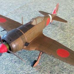 "KI-44  II-B  ""Shoki''"