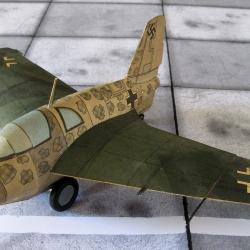 "Me-163  B-1A  ""Komet"""