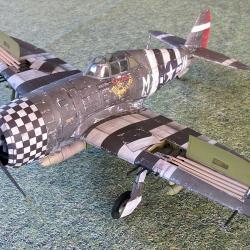 "P-47  D-22 RE  ""Thunderbolt"""